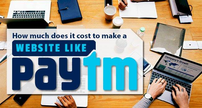 Proposal for Website Like PayTM